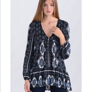 Free People Down by the Bay tunic